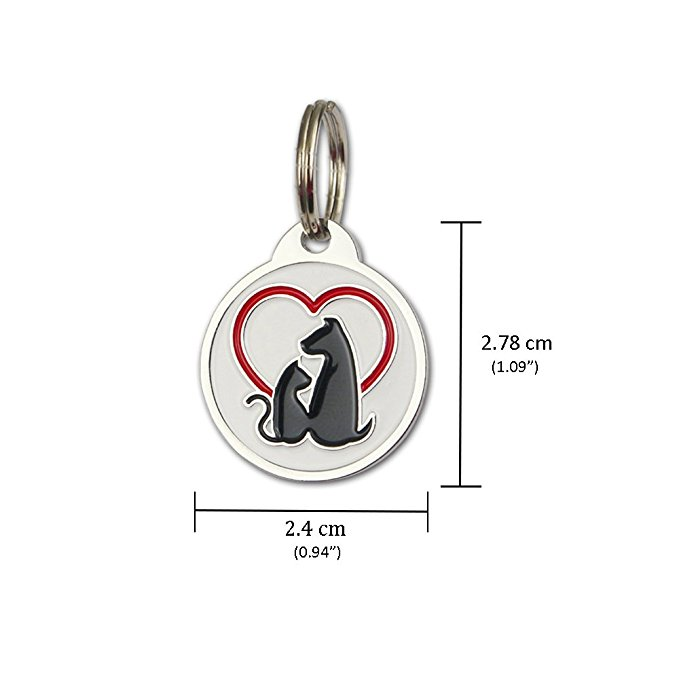 Wholesale High Quality Custom Antique Metal Dog Tag