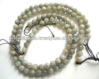 10 Mm Natural Labradorite Round Ball Facet Calibrated Loose Beads ...