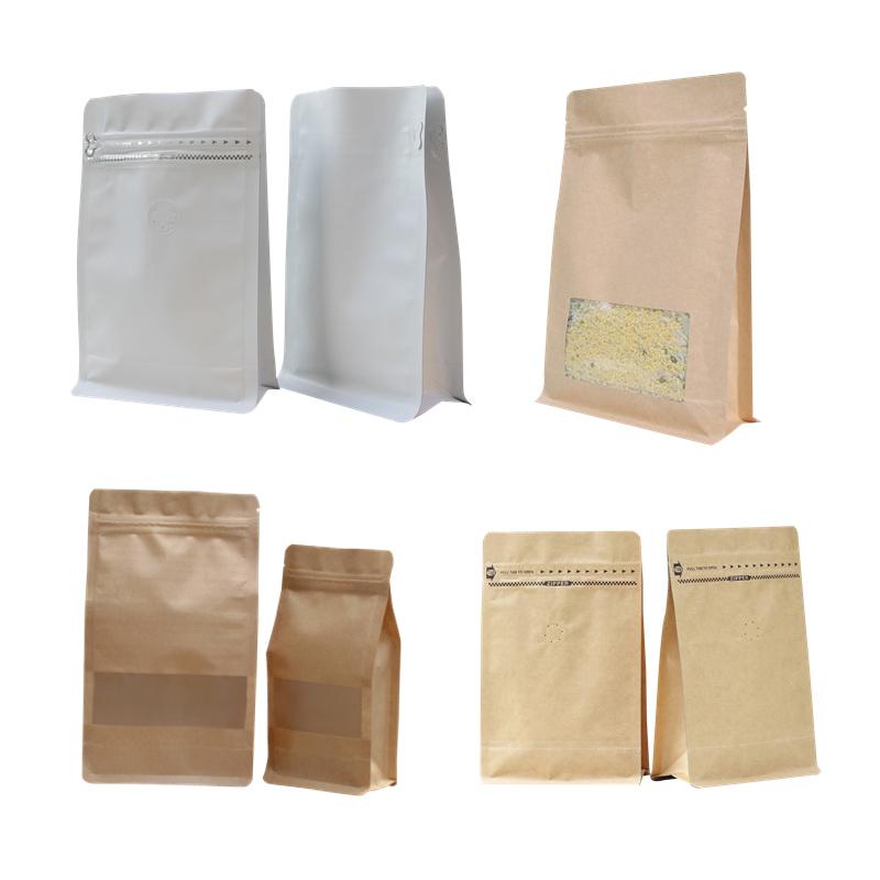 moisture proof custom printing coffee bag design template with