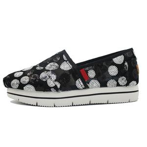 43f02faf0b99a 2019 Wholesale Fancy Flat Slip on Shoes Platform Canvas Shoes for Women