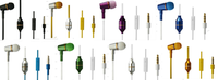 MP3,Mobile phone,MP4,Mobile Phone Use and In-Ear Style Brand New Earphone