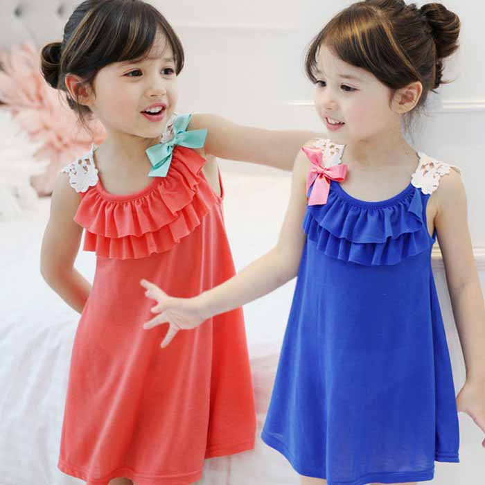 clearance Girls Summer Dresses 2016 toddler girl clothes Casual Bohemian girl dress ...