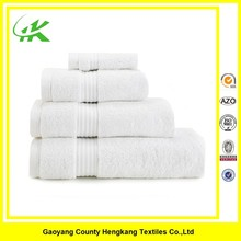100% cotton plain white hotel balfour towel we can make your logo on it