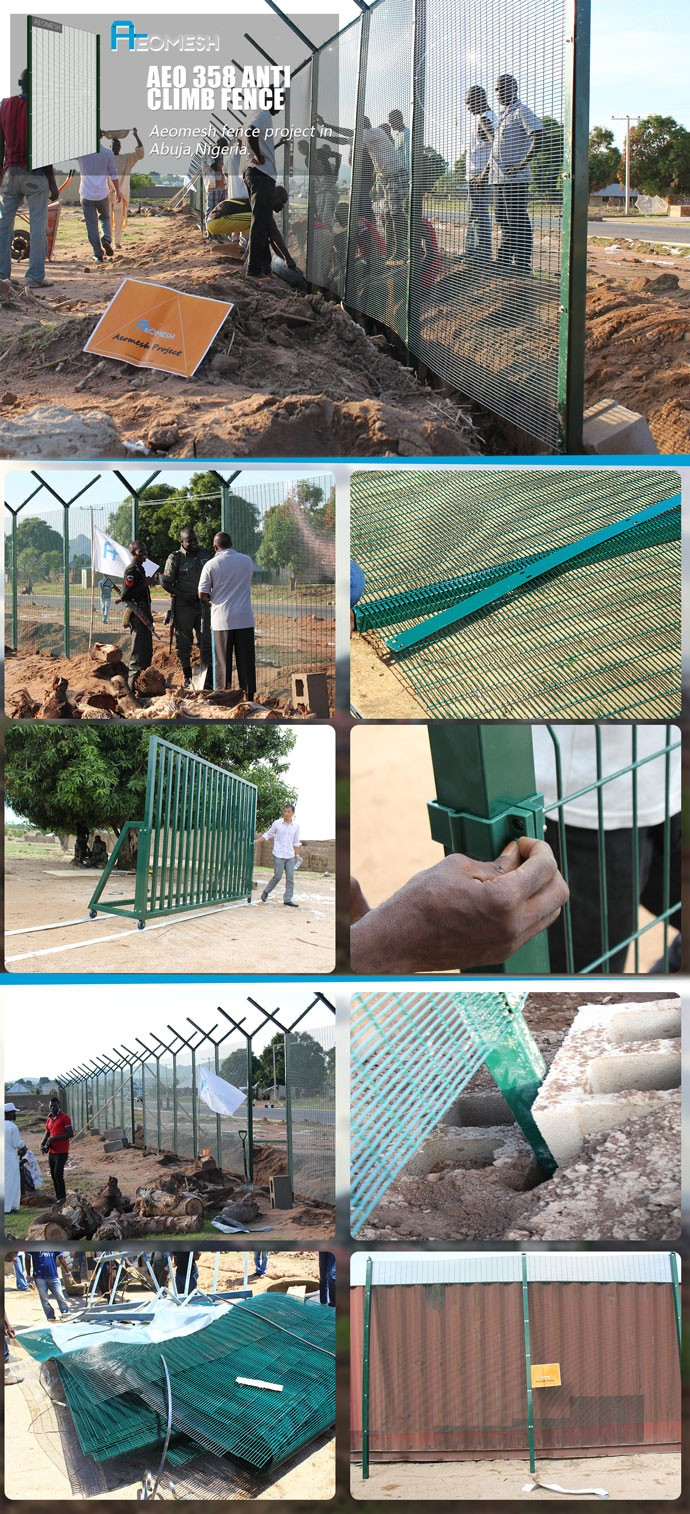 Project in Abuja,Nigeria, 358 Anti Climb Fence