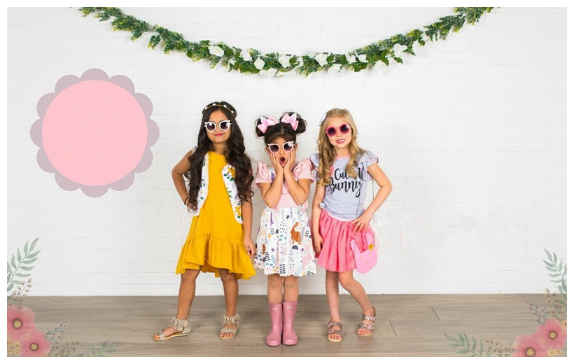 Stylish Summer Boutique Outfits For Children Unisex Casual Kids Clothing