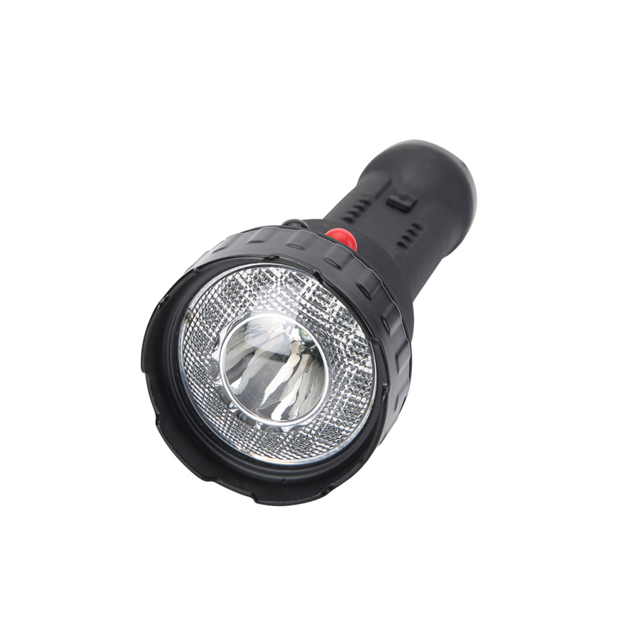 high power PC lens handheld spotlight torch CREE 3W 210Lm LED RGW lithium battery rechargeable emergency signal torch 5JG-A370