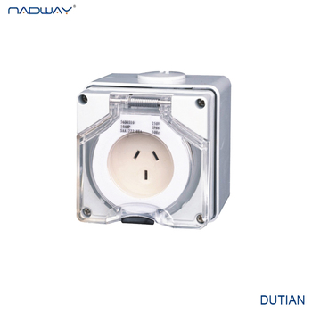 Made in China IP66 AS Electrical Socket Waterproof Socket
