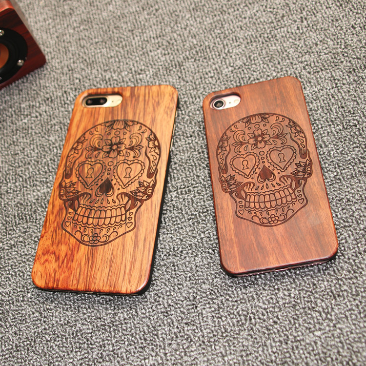 Natural Customized wooden cases for iphone 6, Wood phone case, mobile phone accessories