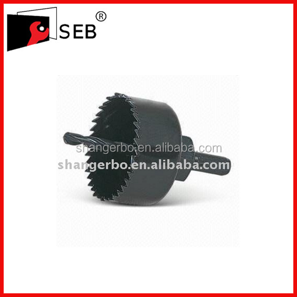 Carbon Steel Hole Saw Blade with Variable Pitch Teeth Cutting of Wood