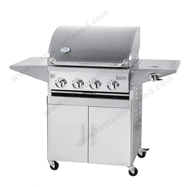 2017 ShineLong Commercial Hot Sale Stainless Steel Infrared Gas Barbecue Grill Machine