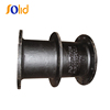 ISO2531 Ductile iron pipe fitting puddle flange pipe