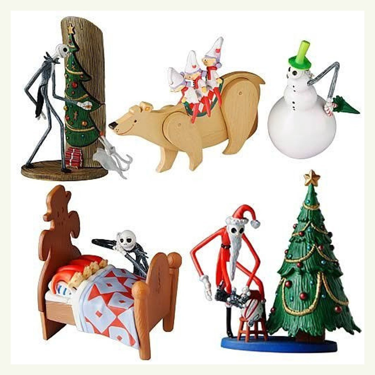 Buy The Nightmare Before Christmas Trading Figure Series 1 - Oogie ...