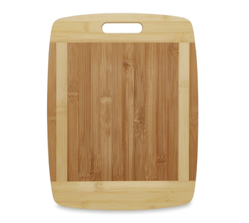 Natural Eco Friendly Boards Are Best For Chopping Brie Cheese With Big Wood One Handed Handle