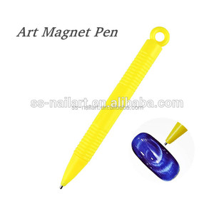 Nail Art Tool Magnet Pen For DIY Magic 3D Tips Magnetic Cats Eyes Gel Polish Dotting Painting