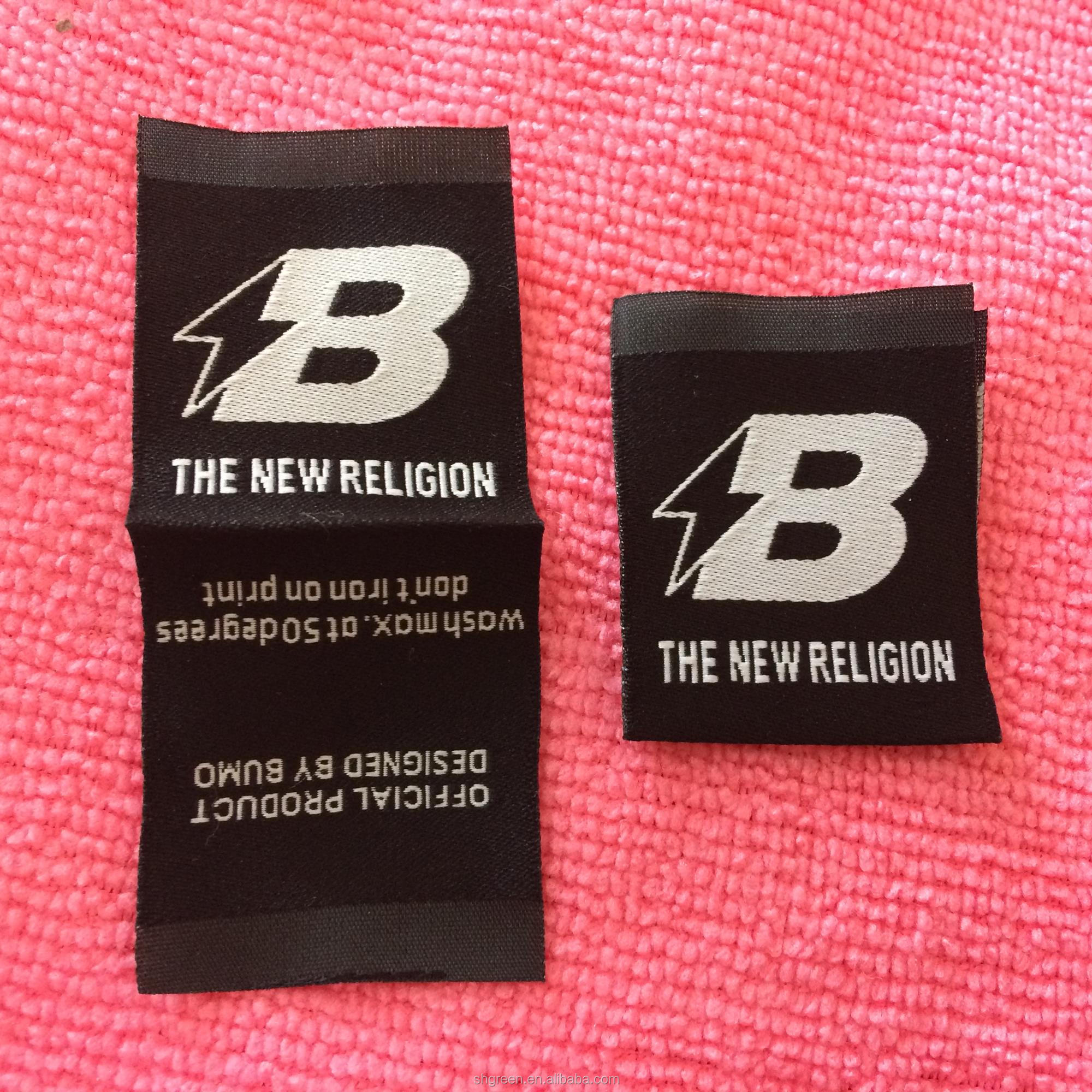 High Definition Private Woven Label,Weaving Clothing Label