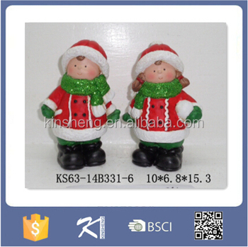 colorful ceramic snowman outdoor christmas decorations