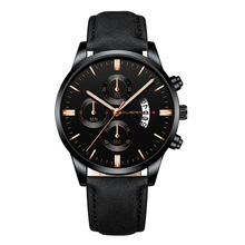 chinese wholesale retro vogue watches personalized customised new black stylish water proof wrist men watch