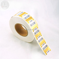 Security Barcode QR code roll holographic label