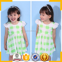 2016 korean children fashion baby clothes baby clothes frock design