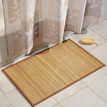 Natural Bamboo Floor Mat for Kitchens, Bathrooms or Offices