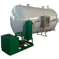 Radio Frequency Dryer Steam Vacuum Timber Drying Kiln Vacuum Wood Drying Kiln