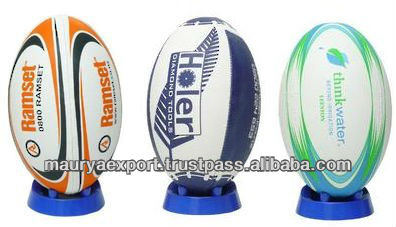 CUSTOM PRINT SIZE 5 RUGBY BALL