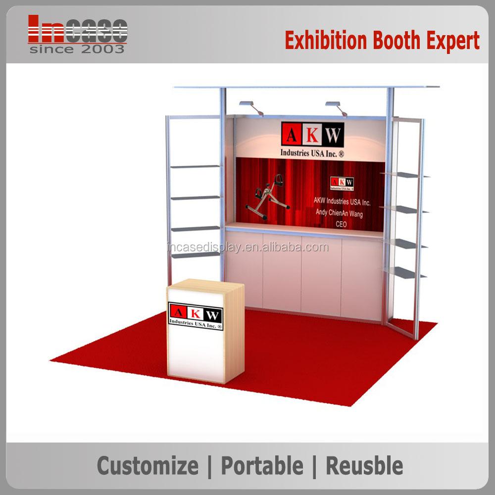 Exhibition Booth In Spanish : Stand de exposición estándar