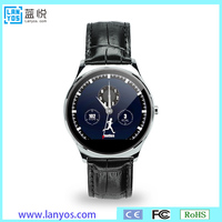 Bluetooth smart watch for huawei u2 g10 1.54 inch round oled touch screen