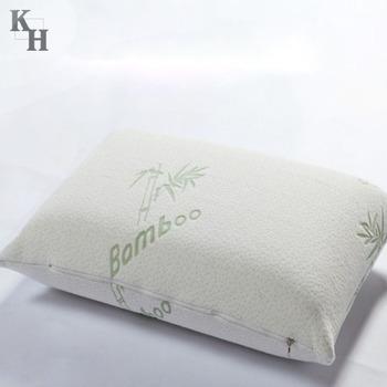Memory Foam Bamboo Pillow With Bamboo Cover Buy Memory Foam Pillow Unique Bamboo Covered Memory Foam Pillow