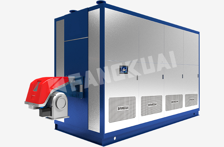 High efficiency industry uses vacuum gas and heavy oil hot water boilers for food