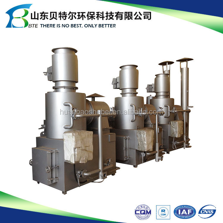 Popular factory directly provide medical service trash incinerator related parameter