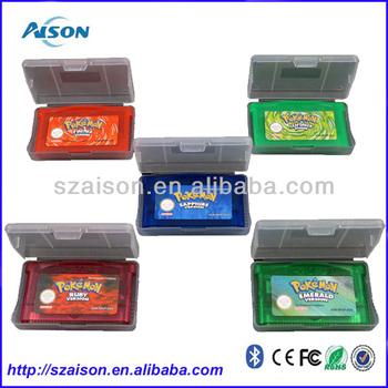 Venta Caliente Juegos De Pokemon Esmeralda Rojo Fuego Verde Hoja