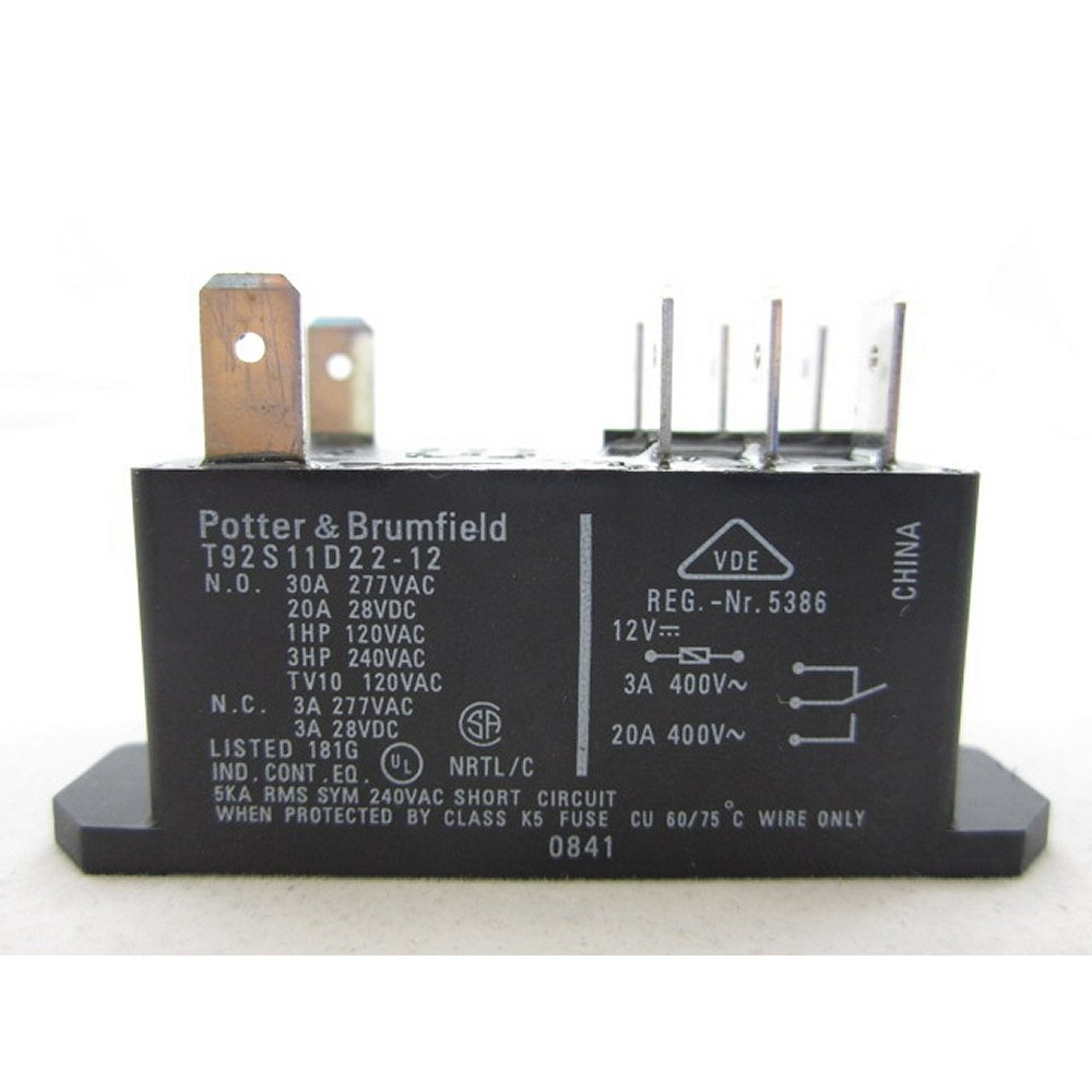 Cheap Dpdt Relay 12v Find Deals On Line At Alibabacom Wiring Get Quotations Potter Brumfield T92p11d22 12 Power Dc 30a Te T92