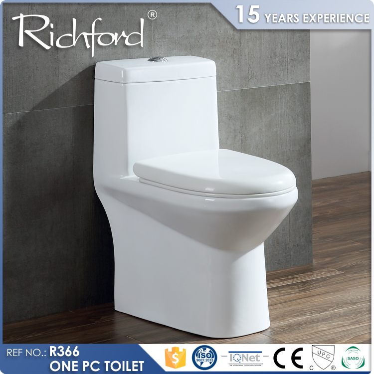 Bathroom design bedroom washdown flushing one-piece luxury portable toilet