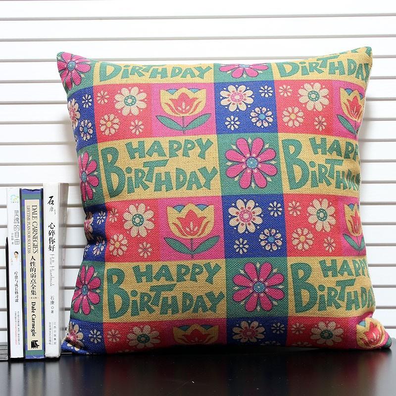 creativo regalo de cumpleaos diseo pillow silla cojn del asiento de jardn