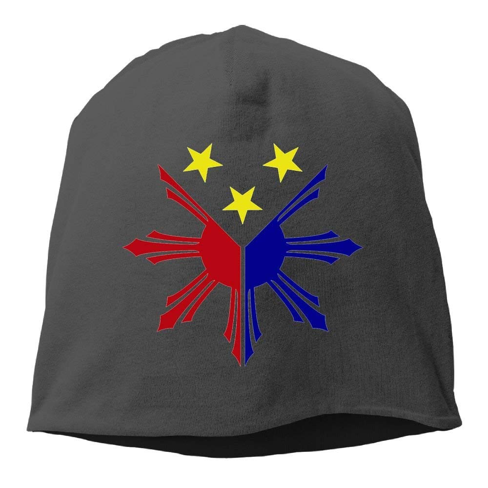 2806fd45e29 Get Quotations · XVintageSkullCap Filipino Flag Stars And Sun Women Men  Wool Hat Soft Stretch Beanies Skull Cap