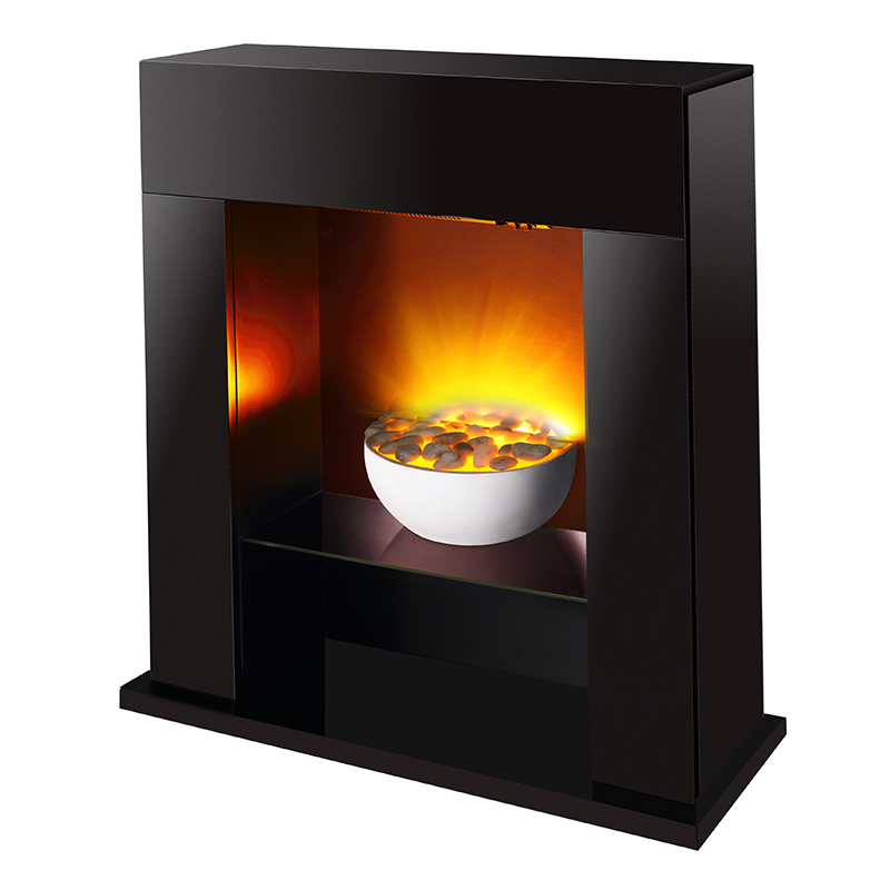 China manufacturer wholesale mordern MDF master flame wooden fireplace for sale LJSF4003ME