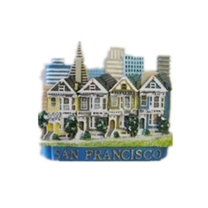 San Francisco souvenirs photo magnets