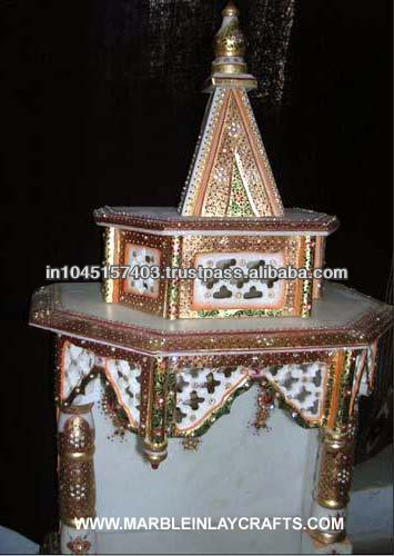 Indian Marble Indoor Mandir , Home Marble Temple