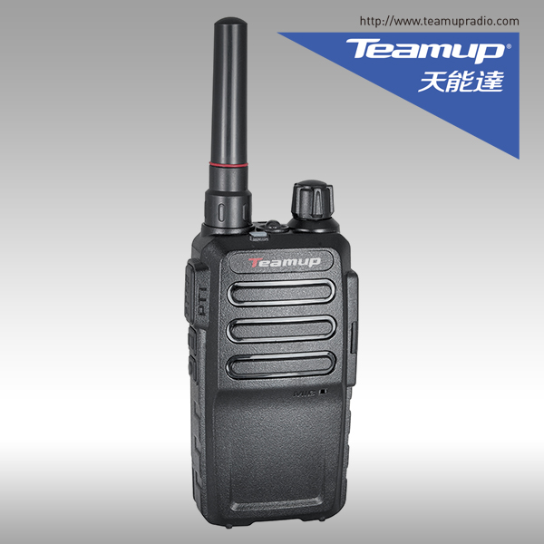 mountain climbing communication Teamup TD-780 VHF 136-174MHz DMR china two way digital radio with waterproof IP67 GPS function