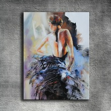 Nude female painting women oil painting on canvas