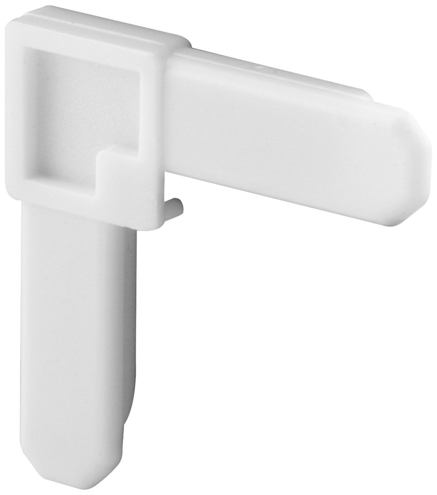 Prime-Line Products PL 7720 Screen Frame Corner, 1/4-Inch by 3/4-Inch, White Plastic,(Pack of 4)