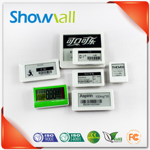 High pixel wireless lcd e ink shop label digital price display tag board