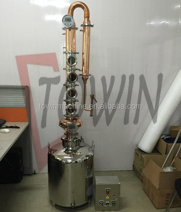small alcohol distillery equipments for high proof spirits