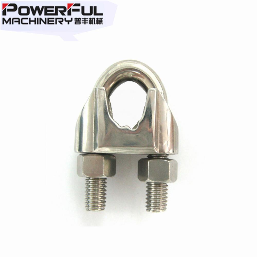 Din741 Steel Wire Rope Clamp And Rigging Hardware Accessories - Buy ...