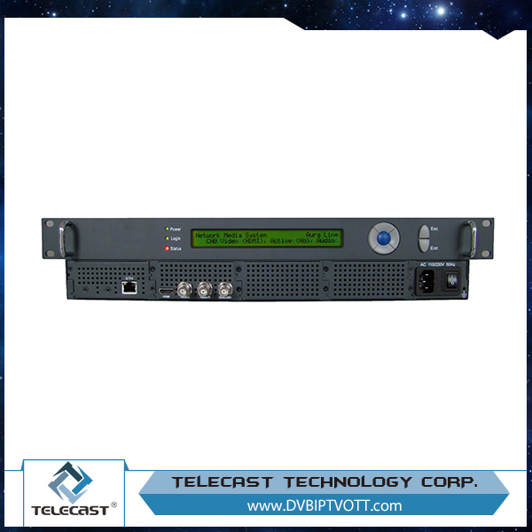 Ultra low compression rate HD network live streaming media system Encoder+Server