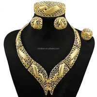 Costume jewelry sets vintage bridal jewelry cheap gold jewelry CJ631
