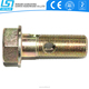 Online shopping chinese hex flange hydraulic hose fitting banjo bolt