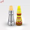 pet plastic spice jar / bottle 500ml for packaging salad dressing and ketchup spice jars wholesale