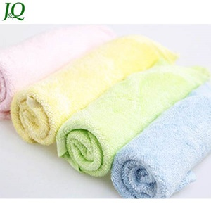 New Color Absorbent Eco-Friendly Organic Bamboo Baby Face Body Terry Towel Wash Cloth